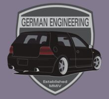 German Engineering -Black by VolkWear