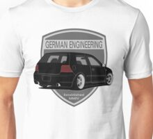 German Engineering -Black Unisex T-Shirt
