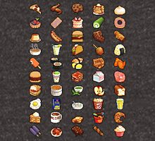 8Bit Pixel Food Unisex T-Shirt