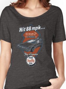 Time Machine Car Women's Relaxed Fit T-Shirt