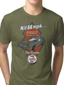 Time Machine Car Tri-blend T-Shirt
