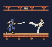 Ninjutsu vs. Kung Fu by LiamNeesons