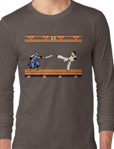 Ninjutsu vs. Kung Fu Long Sleeve T-Shirt