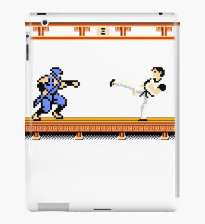 Ninjutsu vs. Kung Fu iPad Case/Skin