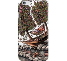 Ship with Flower Sails iPhone Case/Skin