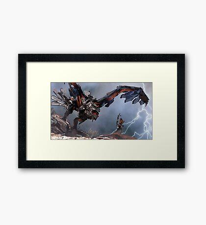 Thunder Bird Framed Print