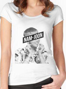 Nam-Joon Rap Monster BTS Women's Fitted Scoop T-Shirt