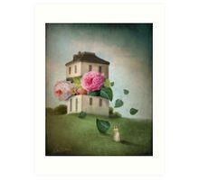 House of Flowers Art Print