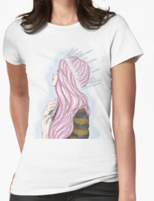 Serenity. Womens Fitted T-Shirt