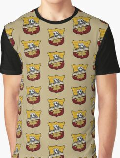 Thunderpuff Crest (Hufflepuff/Thunderbird mix) Graphic T-Shirt