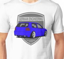 German Engineering -Blue Unisex T-Shirt