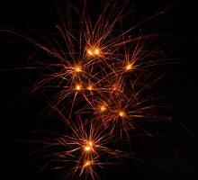 Sparklers In The Sky by WildestArt