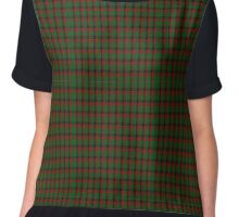 00980 Wilson's No. 202 Fashion Tartan Chiffon Top