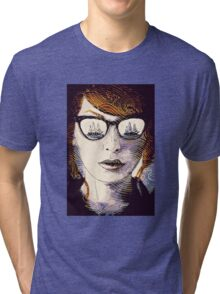 "Illustration from ""Ghosting"" Tri-blend T-Shirt"