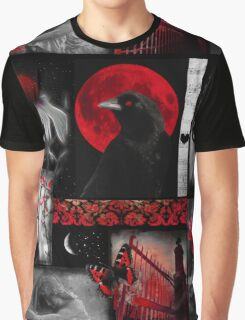 Gothic Red Graphic T-Shirt