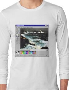 Microsoft Paint Art Long Sleeve T-Shirt