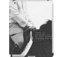 No Secret So Close iPad Case/Skin