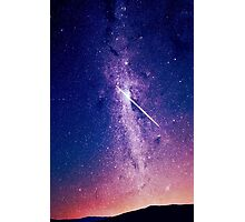 Shooting star Photographic Print