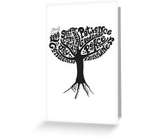 The Fruit of the Spirit Greeting Card