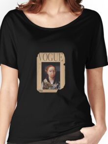 vintage vogue Women's Relaxed Fit T-Shirt