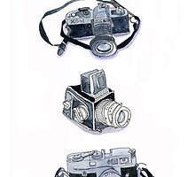 Vintage Cameras by kimzoph