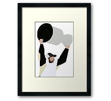 Crosby Cup Framed Print
