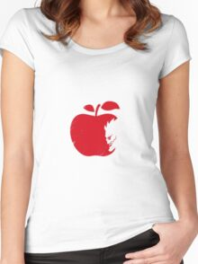 death note pomme Women's Fitted Scoop T-Shirt