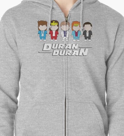Duran Duran Zipped Hoodie
