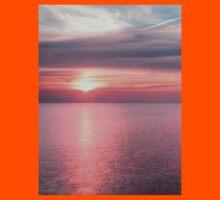 Norfolk summer sunset Kids Tee
