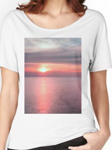 Norfolk summer sunset Women's Relaxed Fit T-Shirt