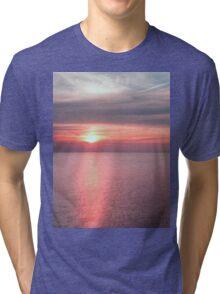 Norfolk summer sunset Tri-blend T-Shirt