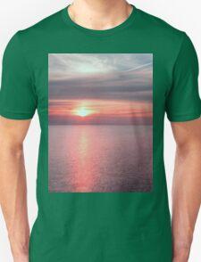 Norfolk summer sunset Unisex T-Shirt