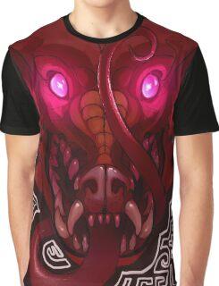 Pink-Eyed Dragon Graphic T-Shirt