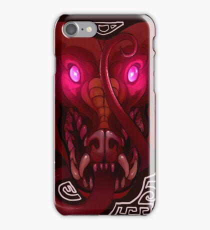 Pink-Eyed Dragon iPhone Case/Skin