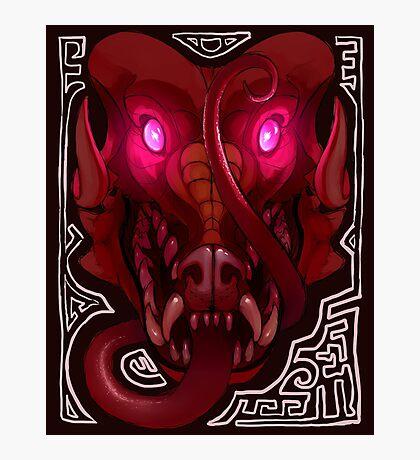 Pink-Eyed Dragon Photographic Print