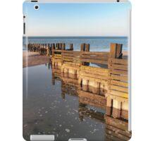 Norfolk groyne iPad Case/Skin
