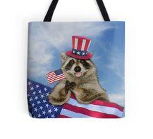 Thank You Raccoon Tote Bag