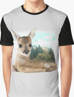 Baby Roe Deer Graphic T-Shirt