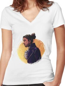 guns, and boats. gunboats. Women's Fitted V-Neck T-Shirt