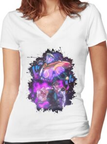 *LIMITED* Jojo's Bizarre Adventure - Jotaro Women's Fitted V-Neck T-Shirt