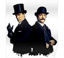 Victorian Holmes and Watson Poster