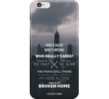 "5 seconds of summer ""broken home"" iphone case iPhone Case/Skin"