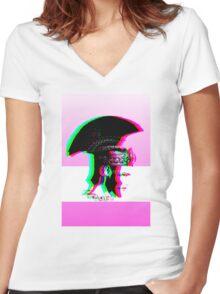 Pronto Per Il Mio Amore Women's Fitted V-Neck T-Shirt