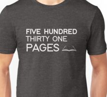 531 PAGES (white) - LDStreetwear Unisex T-Shirt