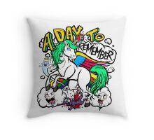 Hero Unicorn Throw Pillow
