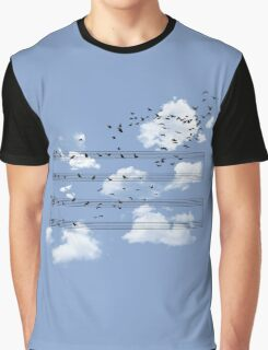 The Musical Notes Graphic T-Shirt