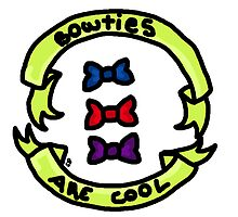Bowties Are Cool by Sofia Pougy