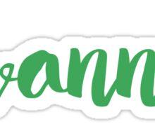 Savannah Sticker