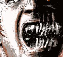 Frontspiece Illustration from Dark Tales from Elder Regions Sticker
