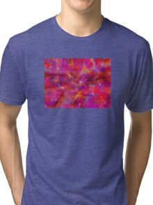 Whimsical Dragonflies Tri-blend T-Shirt
